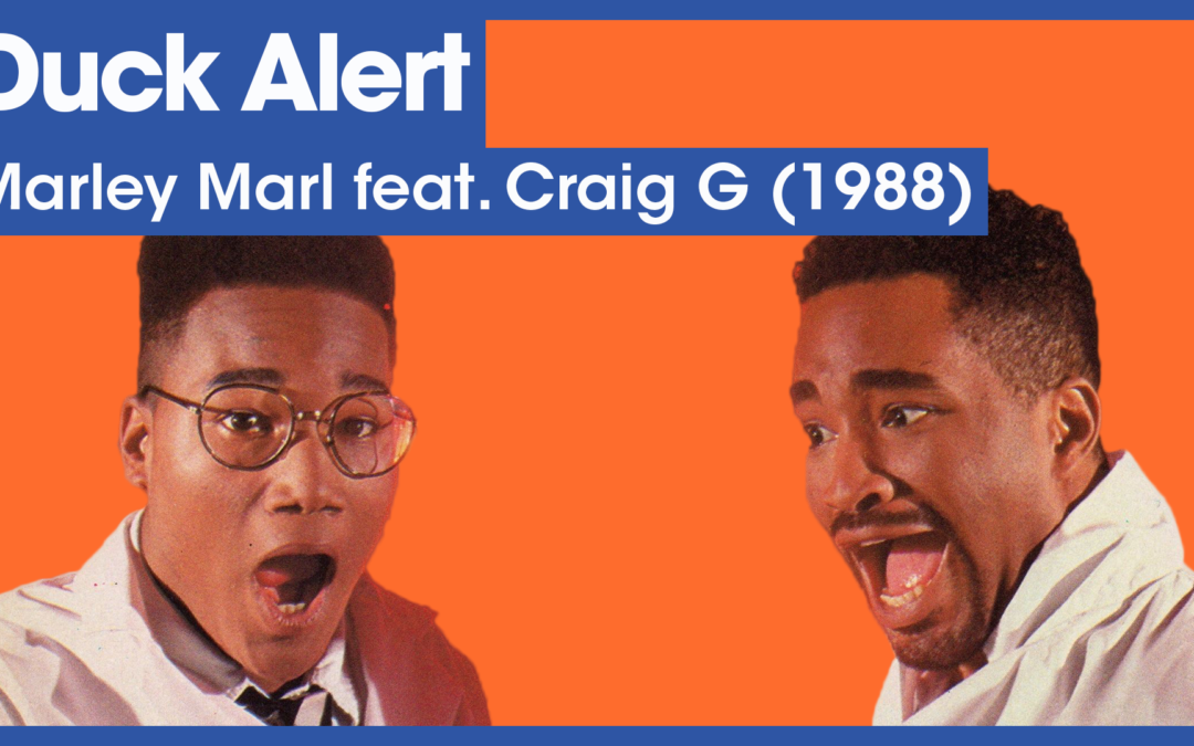 Vol.02E47 – Duck Alert by Marley Marl & Craig G released in 1988 – 40 Years of Hip Hop
